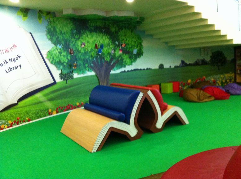生徒がデザインしたスペース